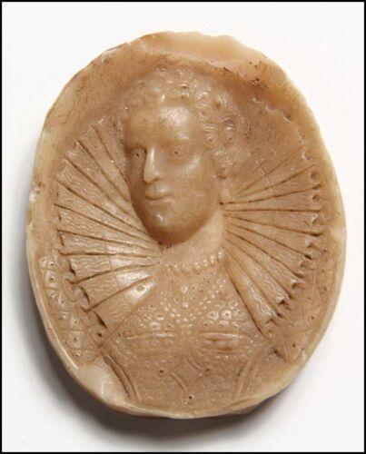 Elizabeth I (Queen of England): Early Wax Portrait