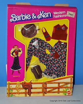 WESTWARD HO #3578 Barbie Doll Western Outfit 1981 Designer Fashions  MOC NRFB