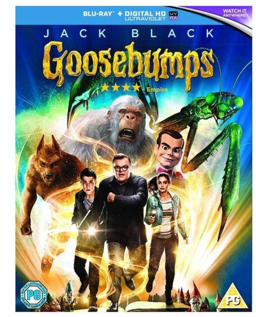 Goosebumps [Blu-ray] [2016] New & Sealed