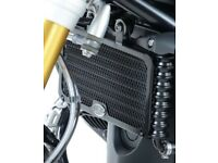 BMW S1000RR 2012 R/&G Racing Oil Cooler Guard OCG0005BK Black