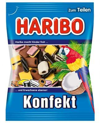 Haribo Konfekt Liquorice Soft Gummy Candies 200g (Germany Import)