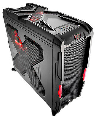Strike-X Advance Mid-Tower Pc Computer Gaming Tower Case USB3 Toolless