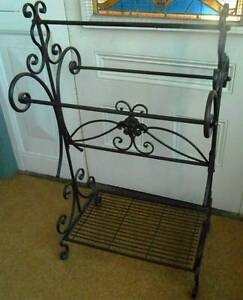 Large metal towel rack Newtown Geelong City Preview