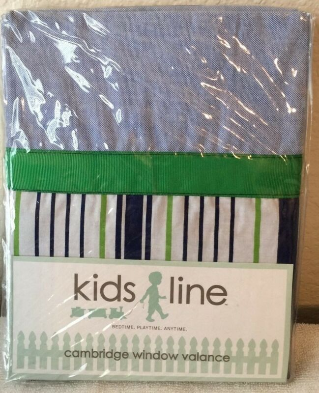 Kids Line Cambridge Window Valance