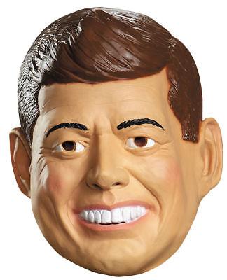 Morris Costumes Men's Kennedy Vinyl Mask One Size. DG87141](Jfk Mask)