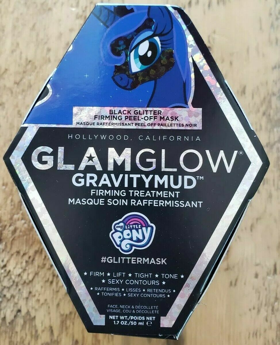 GLAMGLOW Gravitymud Firming Treatment My Little Pony Black G