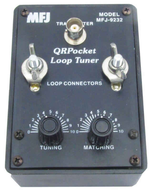 MFJ-9232 HF QRP Mini Loop Antenna Tuner, 25W