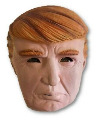 Donald Trump Politician American President The Don Adult Costume Latex Mask New - Politician Halloween Costumes