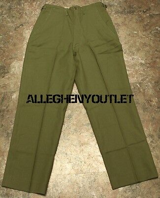 NEW US Army Military Wool M-1951 Field Trousers Wool Pants Small