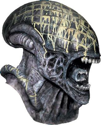 Morris Costumes New Predator Alien Latex Deluxe Full Over The Head Mask. RU4150 (Full Predator Halloween Costumes)