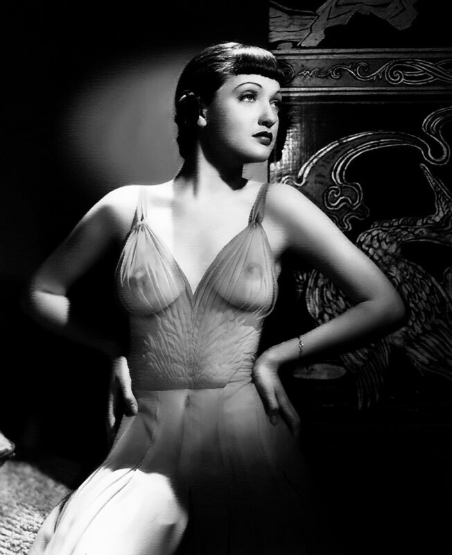 Dorothy Lamour Sexy In Transparent Dress 8x10 Picture Celebrity Print