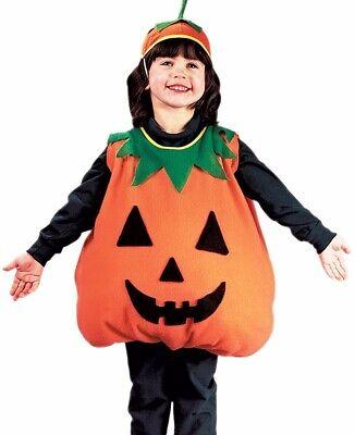 Pumpkin Jack Costume (Pumpkin Costume Kids Childs Girls Boys Toddler Jack-o-lantern - 24m-2T,)