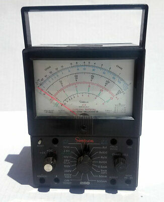 Simpson 260 Series 6xlp Millammeter Overload Protected