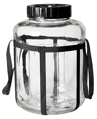 Kegco 4.75 Gallon Wide Mouth Glass Carboy Fermenter Homebrew Beer Wine Making