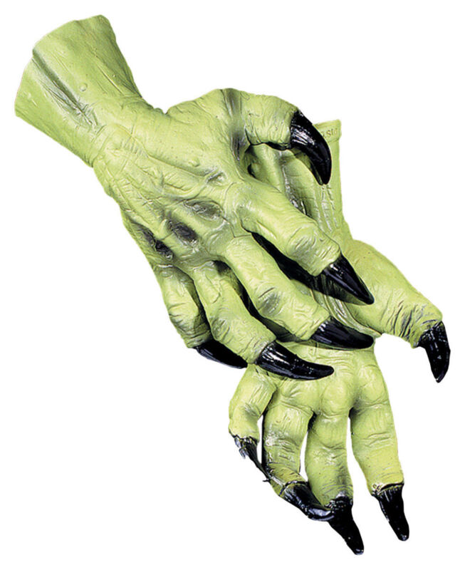 Morris Costumes Adult Unisex Popular Easily Accommodate Witch Hands. DU995