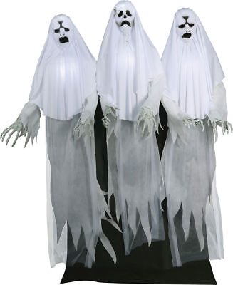 Morris Costume Haunting Gaggle Ghost Trio Steady Animated Plastic Prop. MR127031