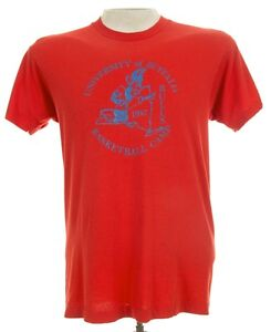 University-Of-Buffalo-Bulls-Basketball-Camp-1987-Screen-Stars-T-Shirt-USA-M-L