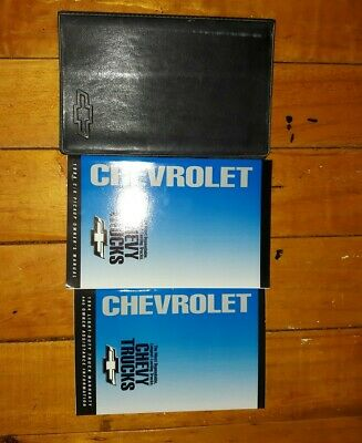 1994 Chevy C/K Pickup Truck Owners Manual