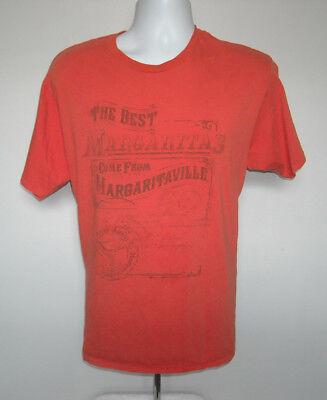 Mens The Best Margaritas Come From Margaritaville T Shirt XL Wasted Away Again