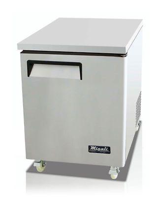 Migali C-u27r Under-counter Work Top Refrigerator One Solid Doors - Warranty