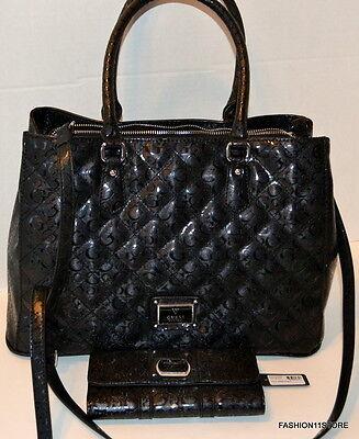 Guess Warm Wishes Tote+Wallet Set Bag Handbag Sac Bolsa Style FF614509 comprar usado  Enviando para Brazil