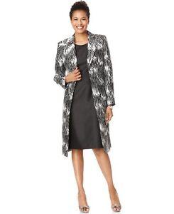 Popular Tahari Women39s Long Coat Pant Suit  Free Shipping Today  Overstock
