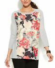 Alfani Tunic Floral Sweaters for Women