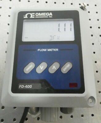 R168342 Omega Ultrasonic Doppler Flow Meter Fd-400 Fd-410