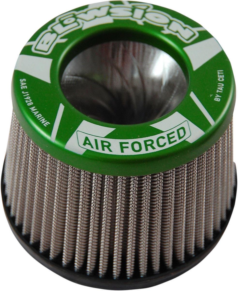 Blowsion PWC Tornado Air Filter Anodized Green