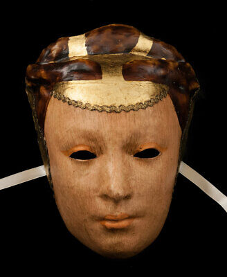 Mask Venice Face Volto The Lady paper Mache Top Quality 1775