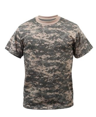 T-Shirt ACU Digital Camo Military Digital Camouflage Rothco 6376 Acu Digital Camouflage T-shirt