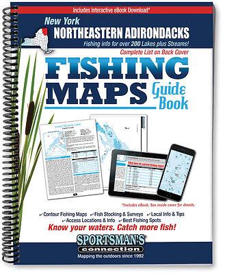 Books video catch fishing 5 trainers4me new york northeastern adirondacks fishing map guide 2016 edition scmaps fandeluxe Choice Image