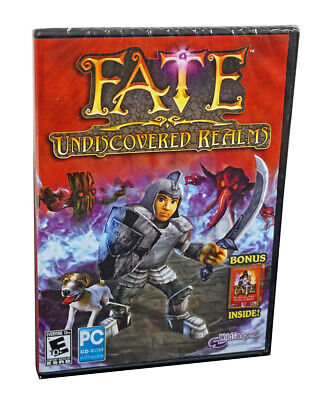 FATE Undiscovered Realms (PC Game) + BONUS Original PC Game FREE US SHIPPING