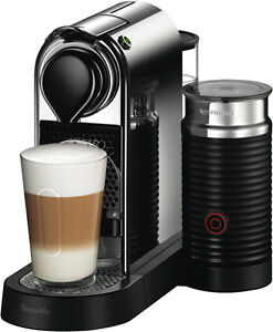 NEW Nespresso BEC650MC Breville Citiz and Milk Capsule Machine Chrome