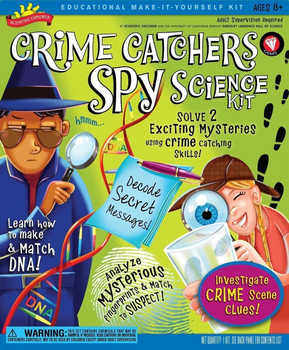 Brybelly TPOO-37 Crime Catchers Spy Science Kit Sonstige