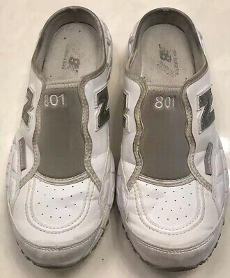 New Balance 801 Womens Athletic Slip On Walking Shoes Size 9 White...