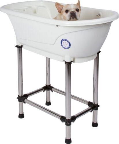 "NEW Pet Dog Cat Grooming Indoor Outdoor Home Puppy Sink Wash Bath Tub 37"" x 19"""
