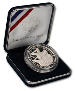 2010 BOY SCOUTS OF AMERICA PROOF SILVER DOLLAR COIN