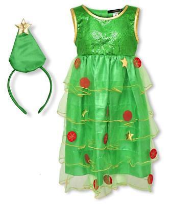 aum & Stern Stirnband Neuheit Outfit Weihnachten Set 1 To 2 (Weihnachtsbaum Stirnband)