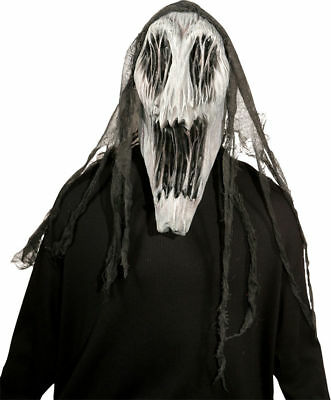 Gaping Wraith Dementor Harry Potter Scary Ghost Mask Halloween Costume. MR035052