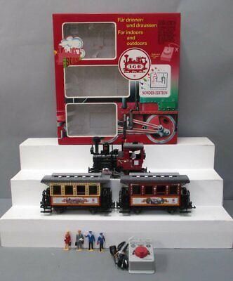 LGB 72950 Christmas G Gauge Steam Starter Train Set EX/Box