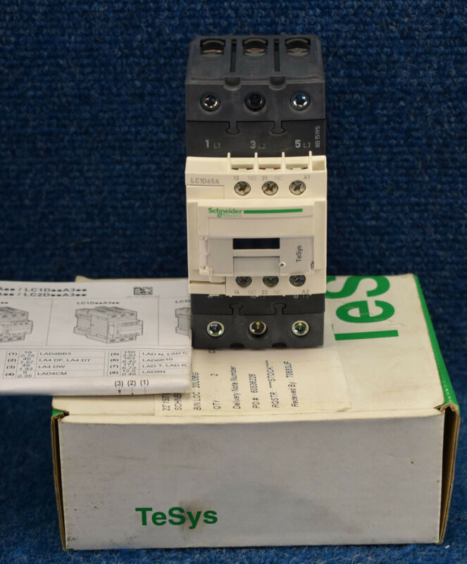 New Schneider Electric LC1D65AT7  LC1D65AT7 IEC Magnetic Contactor