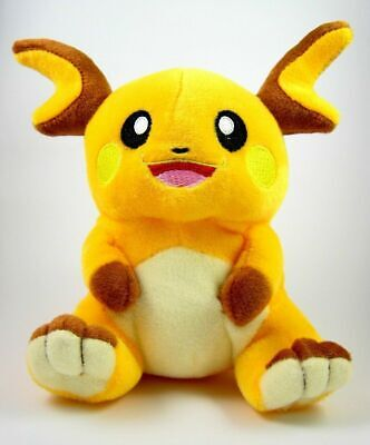 7 in Raichu Plush Doll Stuffed Animals Toy For Pokemon Fans Kids Gift #026