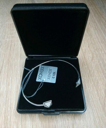 Xenox Damen 13cm Armreif XS6820 925 Sterling Silber mit Zirkonia