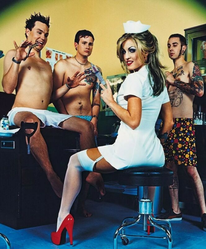 Blink 182 8x11 Photo Enema of the State Shoot What