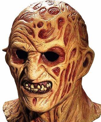 Deluxe Freddy Krueger MasK Nightmare on Elm Street Full Overhead Latex Mask