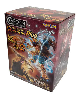 Single Random Box  New Capcom Monster Hunter Plus Anger Ver  2 Blind Box Figure