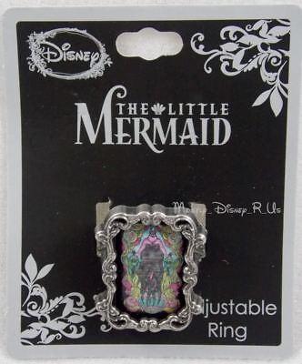 Kleine Meerjungfrau Ringe (Neu Disney die Kleine Meerjungfrau Ursula Buntglas Filigraner Ring Verstellbar)
