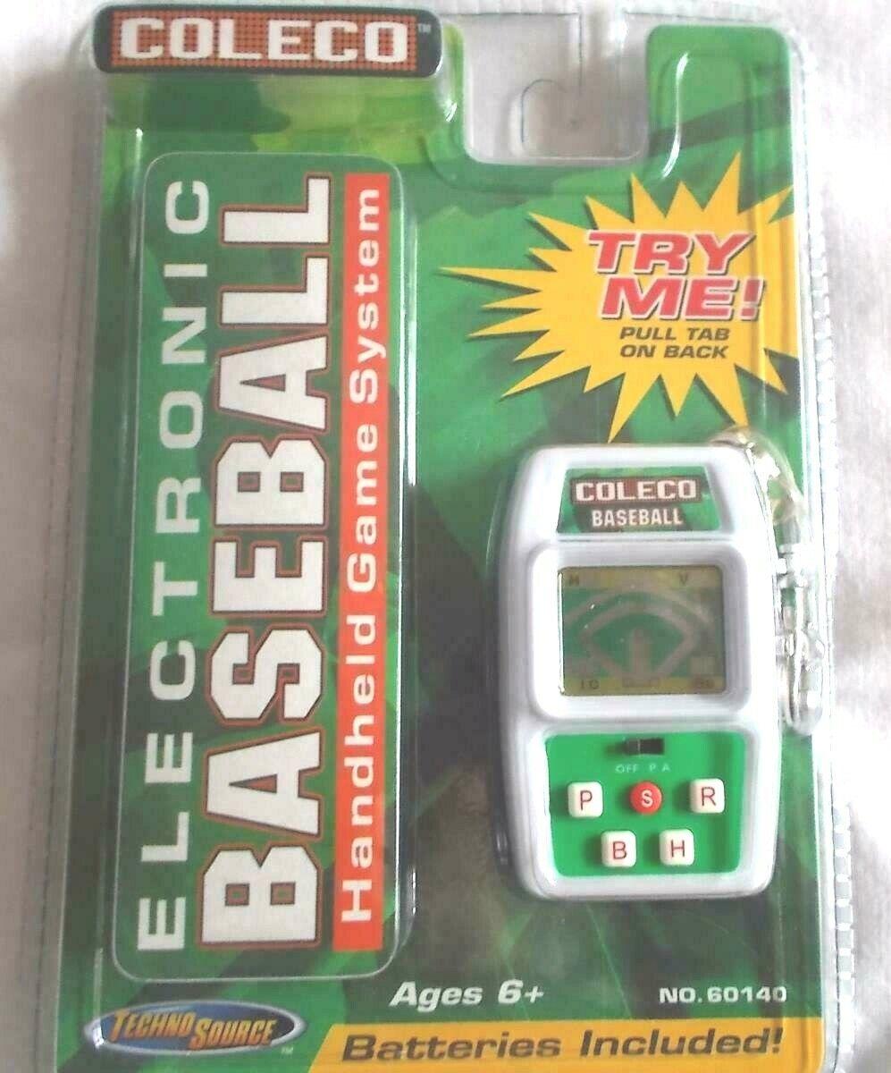 Coleco Electronic Baseball Keychain game NEW