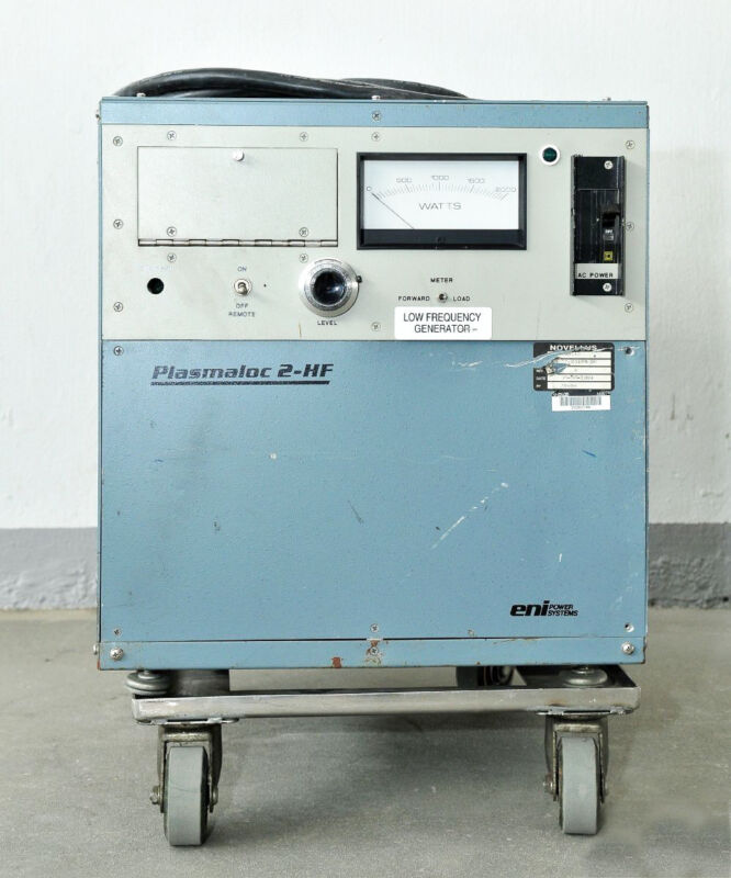 1928 Eni Plasmaloc 2-hf Low Freq Gen, Novellus P/n: 27-00196-00 Pl-2hf-11451-55